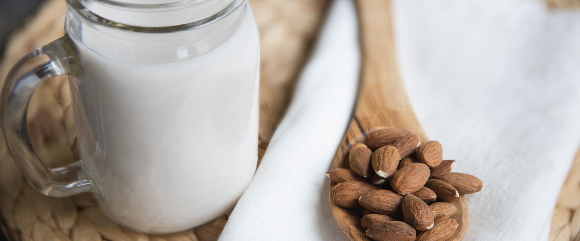 almond milk in malaysia