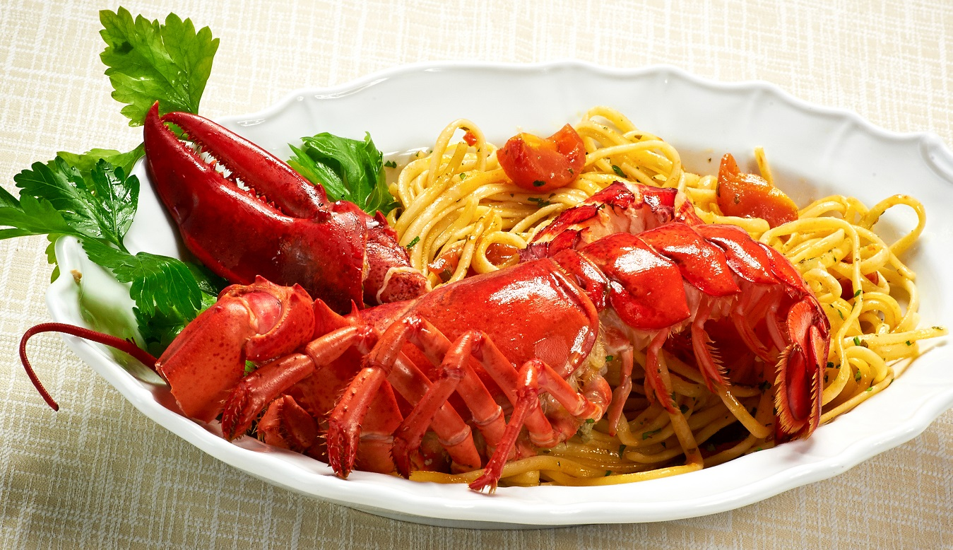 linguine lobster pasta dish in kuala lumpur